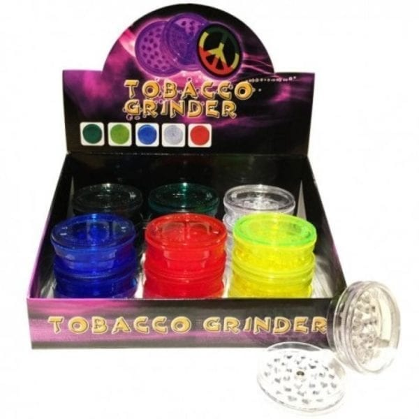 Plastic Grinders 20 Piece