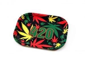 420 Rasta Rolling Trays