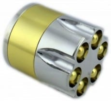 Bullet Clip 3 part Grinder Small