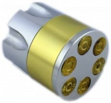 Bullet Clip 3 part Grinder Large