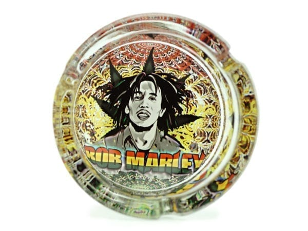 Round Bob Marley Ashtray 6 piece