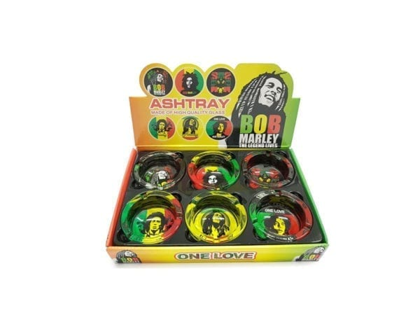 Ashtray Bob Marley 6 piece