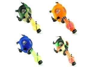 Gas Mask Bongs