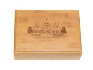CSB Bamboo Smoking Box