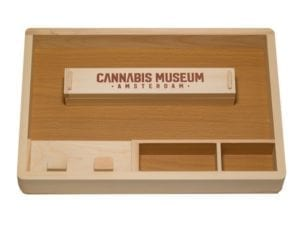 CSB Wooden Rolling Tray Large