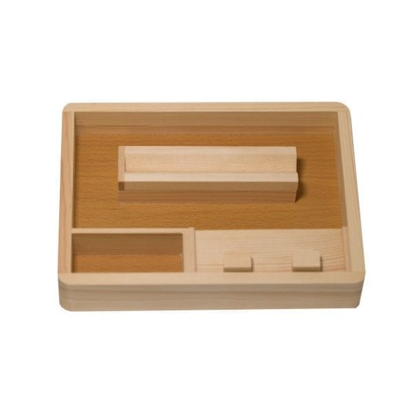 CSB Wooden Rolling Tray Small 2