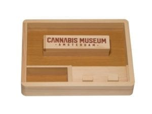 CSB Wooden Rolling Tray Small