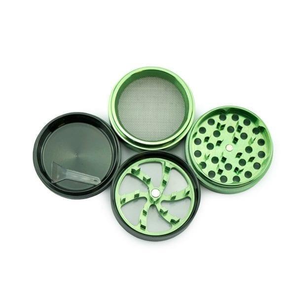 4 part Aluminium Grinder CSB 2