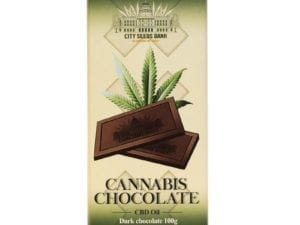 Cannabis Dark Chocolate 100g