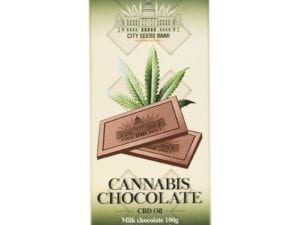 Cannabis Milk Chocolate 100g