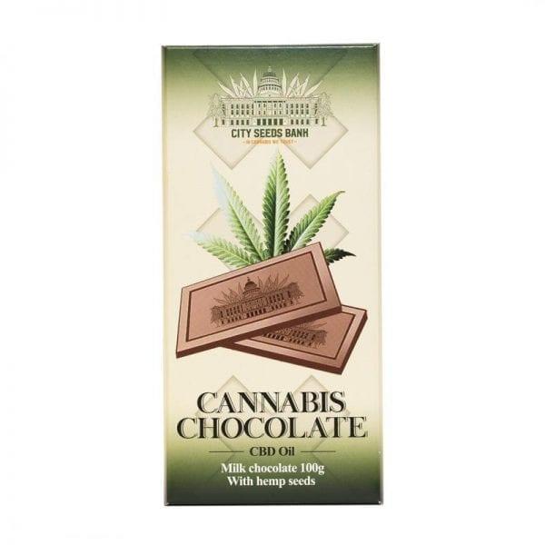 Cannabis Milk Chocolate 100g