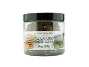 Chocolate Cannabis Space Cake Cookies