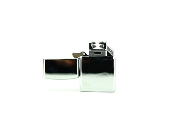 Small Plasma Lighter Shiny Silver