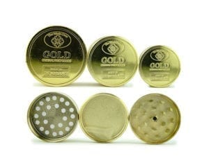 Grinder 24K Gold Small Medium and Large