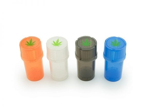 Grinder Stash n' Roll Mixed Colours 12 piece