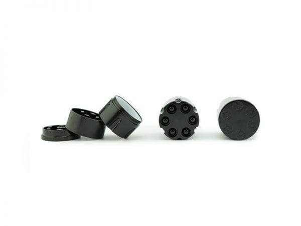 Mini Bullet Grinder Black and Silver Mix 12 piece