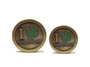 3 Tier Copper I Leaf Amsterdam Grinders Small and Mini