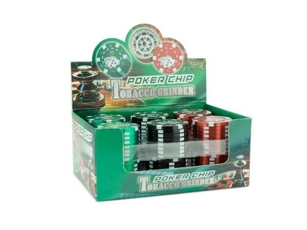 Poker Chip 3 part Grinder