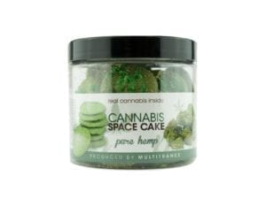 Pure Hemp Cannabis Space Cake Cookies