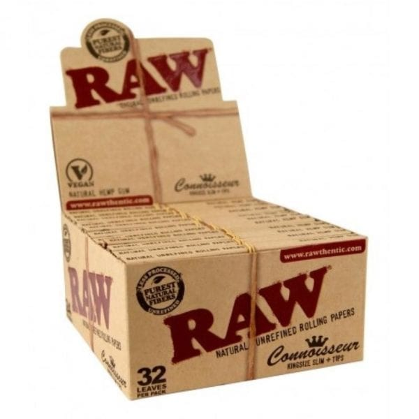 RAW Connoisseur+Tips