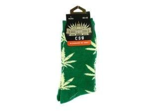 Cannabis Socks Green 40-45