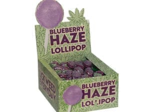 Lollipops Blueberry Haze 100p carton