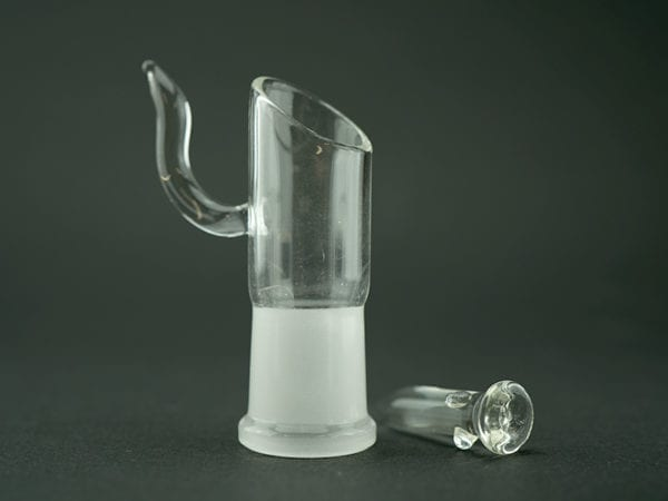 Glass Dab Head and Nail 18mm