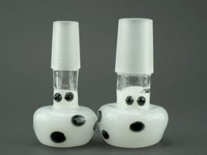 White Mushroom Heads 14mm and 18mm