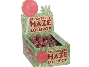 strawberry haze lollipop