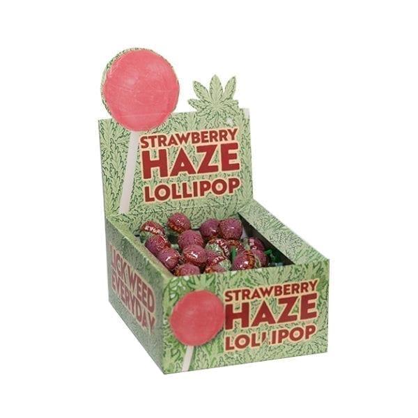 strawberry haze lollipop