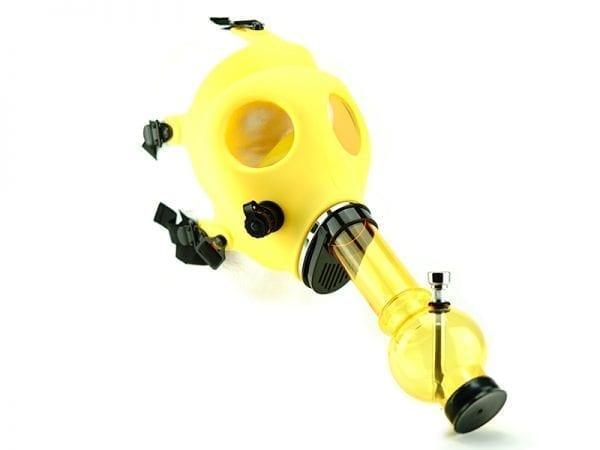Gas Mask Bongs Yellow