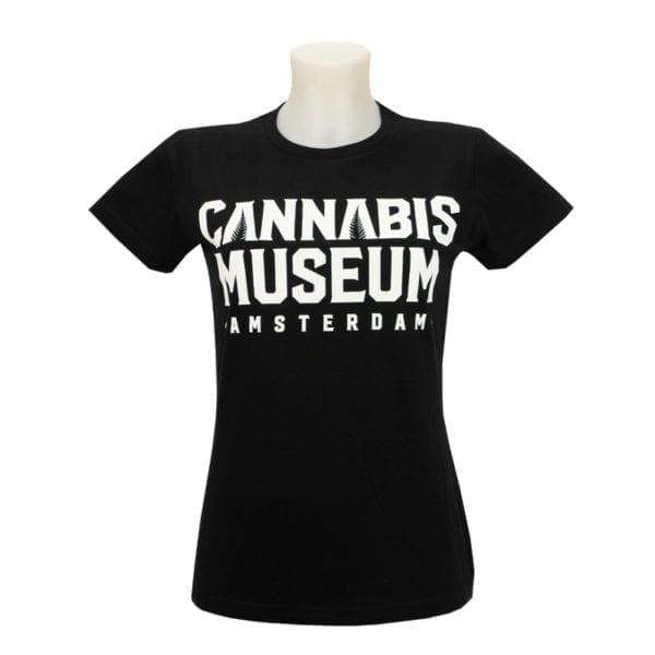 Cannabis Museum Amsterdam T-Shirt Womens