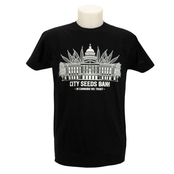 City Seeds Bank T-Shirt Mens