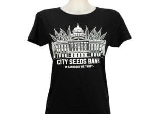 City Seeds Bank T-Shirt Womens