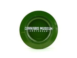 Cannabis Museum Ashtray - Green