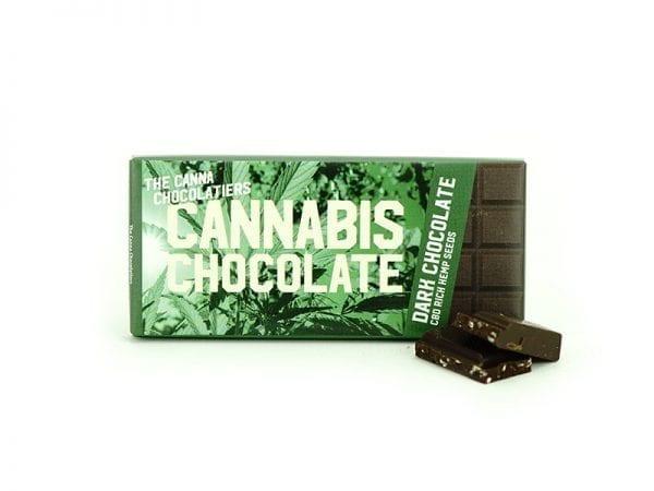 Cannabis Dark Chocolate 40gr