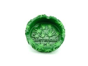 Ashtray Green Amsterdam 12p