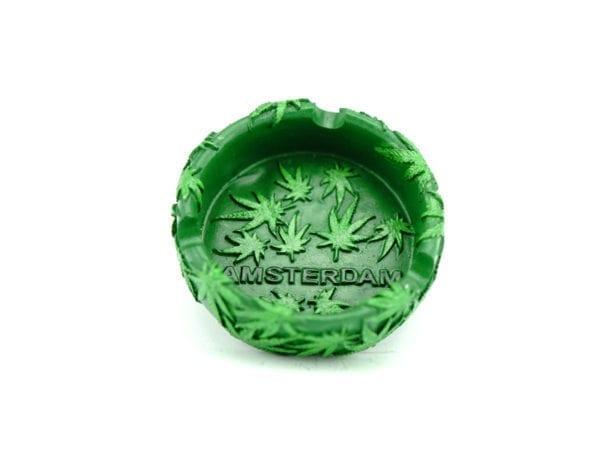 Ashtray Green Amsterdam 12p