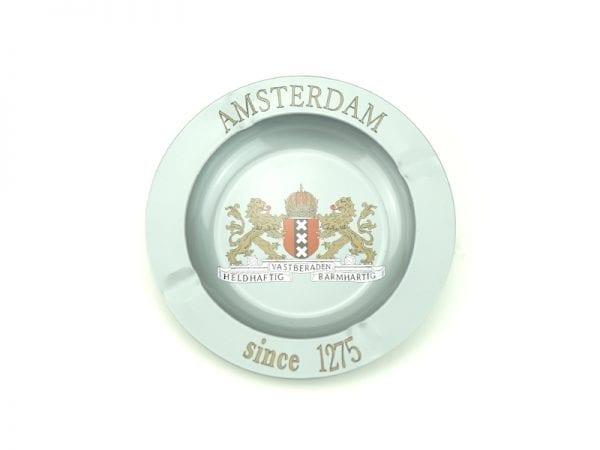 Metal Ashtray Amsterdam Weapon gray