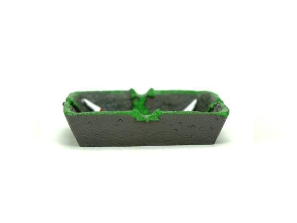 Ashtray Grey Joint Leaf