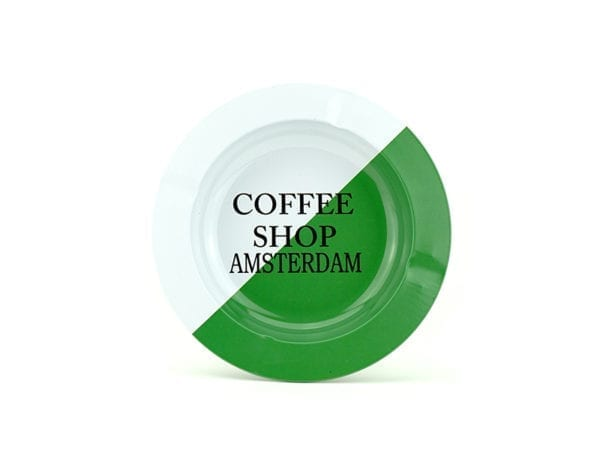 Metal Ashtray Coffeeshop Amsterdam