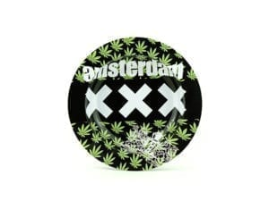 Metal Ashtray XXX Leaves