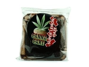 Canna Cake Brownies Super Lemon Haze