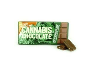 Cannabis Milk Chocolate with Caramel 40gr