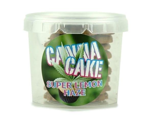 Canna Cake Super Lemon Haze Cookies