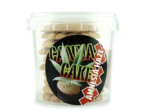 Canna Cake Amnesia Haze Cookies