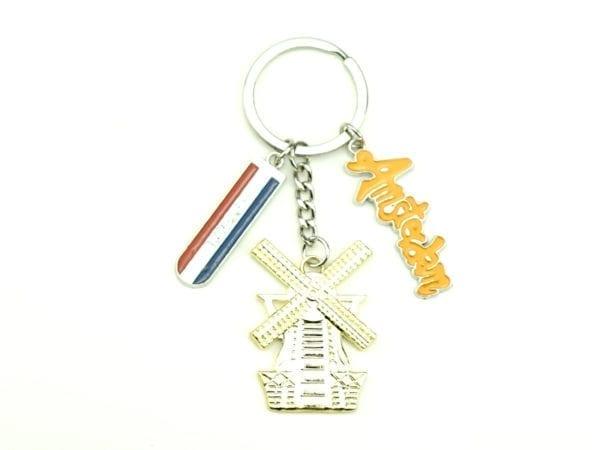 Keychain Tripple Gold 12p