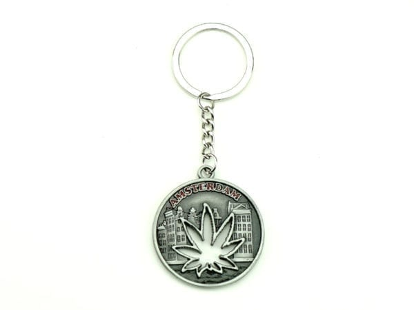 Keychain Weed Amsterdam Coin 12p