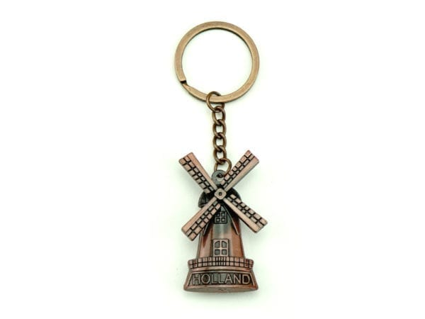 Keychain Windmill Copper 12p