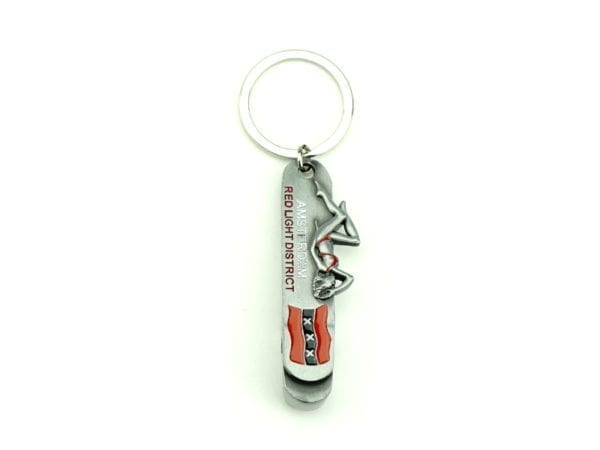 Keychain Red Light Bottle Opener 12p